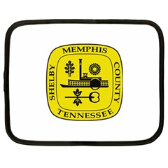 Seal Of Memphis  Netbook Case (large)