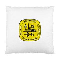 Seal Of Memphis  Standard Cushion Case (two Sides)