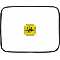 Seal Of Memphis  Fleece Blanket (mini)