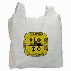 Seal Of Memphis  Recycle Bag (two Side)