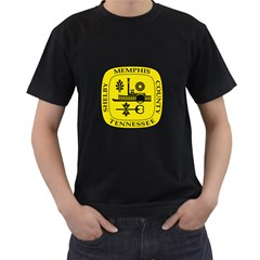 Seal Of Memphis  Men s T Shirt (black)
