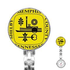 Seal Of Memphis  Stainless Steel Nurses Watch