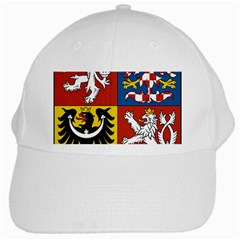 Coat Of Arms Of The Czech Republic White Cap