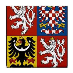 Coat Of Arms Of The Czech Republic Tile Coasters