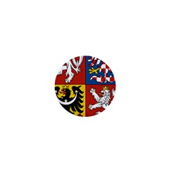 Coat Of Arms Of The Czech Republic 1  Mini Buttons