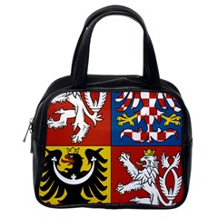 Coat Of Arms Of The Czech Republic Classic Handbags (One Side)