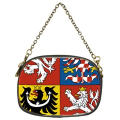 Coat Of Arms Of The Czech Republic Chain Purses (one Side)