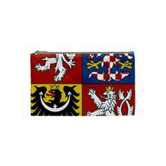 Coat Of Arms Of The Czech Republic Cosmetic Bag (Small)