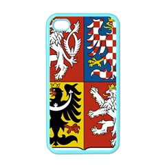 Coat Of Arms Of The Czech Republic Apple iPhone 4 Case (Color)