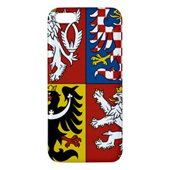 Coat Of Arms Of The Czech Republic Apple iPhone 5 Premium Hardshell Case