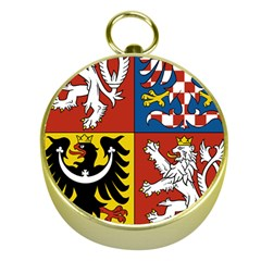 Coat Of Arms Of The Czech Republic Gold Compasses