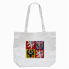 Coat Of Arms Of The Czech Republic Tote Bag (White)