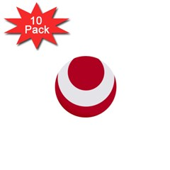 Emblem Of Okinawa Prefecture 1  Mini Buttons (10 pack)