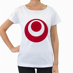 Emblem Of Okinawa Prefecture Women s Loose-Fit T-Shirt (White)