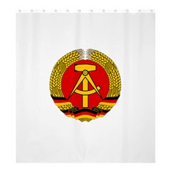 National Emblem Of East Germany  Shower Curtain 66  x 72  (Large)