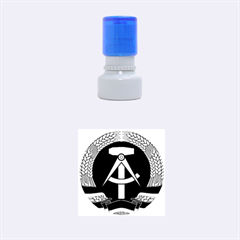 National Emblem Of East Germany  Rubber Round Stamps (small)