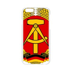 National Emblem Of East Germany  Apple Seamless iPhone 6/6S Case (Transparent)