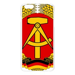 National Emblem Of East Germany  Apple Seamless iPhone 6 Plus/6S Plus Case (Transparent)
