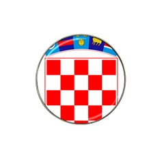 Coat Of Arms Of Croatia Hat Clip Ball Marker