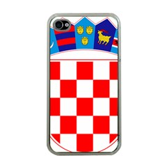 Coat Of Arms Of Croatia Apple iPhone 4 Case (Clear)