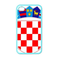 Coat Of Arms Of Croatia Apple iPhone 4 Case (Color)