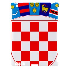 Coat Of Arms Of Croatia Apple iPad 3/4 Hardshell Case (Compatible with Smart Cover)