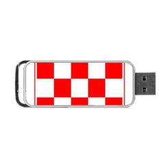 Coat Of Arms Of Croatia Portable USB Flash (One Side)