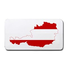 Flag Map Of Austria Medium Bar Mats