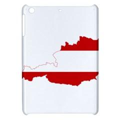 Flag Map Of Austria Apple iPad Mini Hardshell Case