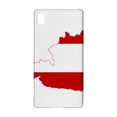 Flag Map Of Austria Sony Xperia Z3+