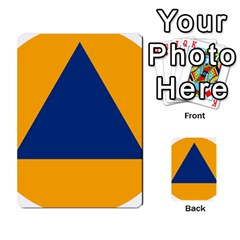 International Sign Of Civil Defense Roundel Multi-purpose Cards (Rectangle)