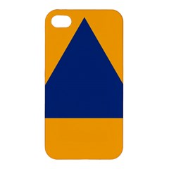 International Sign Of Civil Defense Roundel Apple iPhone 4/4S Premium Hardshell Case