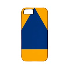International Sign Of Civil Defense Roundel Apple iPhone 5 Classic Hardshell Case (PC+Silicone)