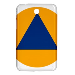 International Sign Of Civil Defense Roundel Samsung Galaxy Tab 3 (7 ) P3200 Hardshell Case