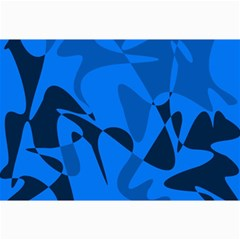 Blue pattern Collage Prints