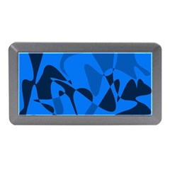 Blue pattern Memory Card Reader (Mini)