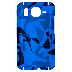 Blue pattern HTC Desire HD Hardshell Case