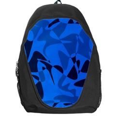 Blue pattern Backpack Bag