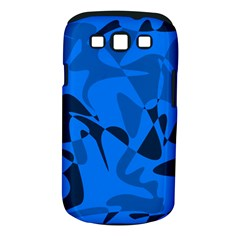 Blue pattern Samsung Galaxy S III Classic Hardshell Case (PC+Silicone)