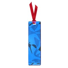 Blue pattern Small Book Marks