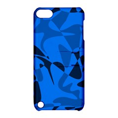 Blue pattern Apple iPod Touch 5 Hardshell Case with Stand