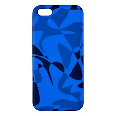 Blue pattern Apple iPhone 5 Premium Hardshell Case