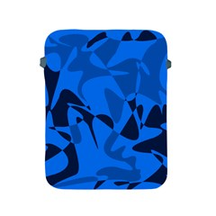 Blue pattern Apple iPad 2/3/4 Protective Soft Cases