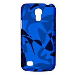 Blue pattern Galaxy S4 Mini