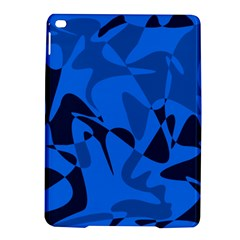 Blue pattern iPad Air 2 Hardshell Cases