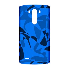 Blue pattern LG G3 Back Case