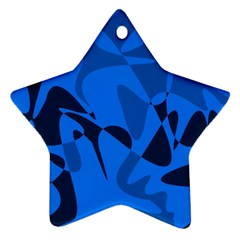 Blue pattern Ornament (Star)