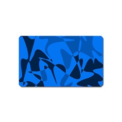 Blue pattern Magnet (Name Card)