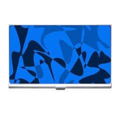 Blue pattern Business Card Holders