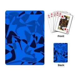 Blue pattern Playing Card